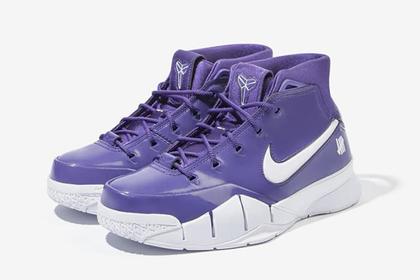 Undefated x Nike Kobe 1 Protro Purple