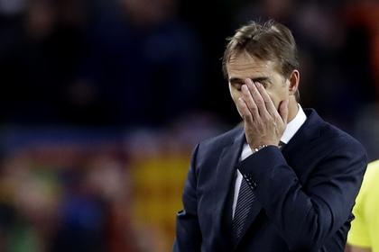 «Реал» уволил главного тренера