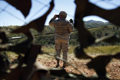 Трамп отправит тысячи солдат на границу с Мексикой