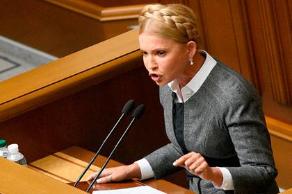 Тимошенко задумала взыскать с России сотню миллиардов евро