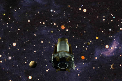 Космический телескоп Kepler завершил работу из-за закончившегося топлива