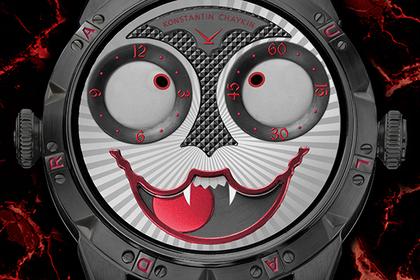 Россиянин превратил часы в вампира