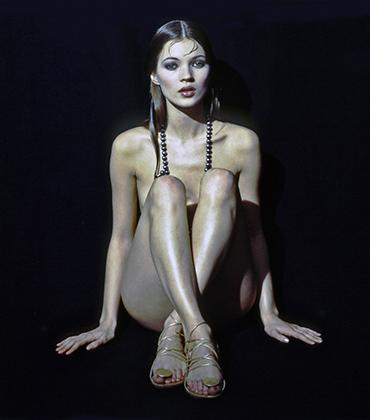 Кейт Мосс в 1992 году