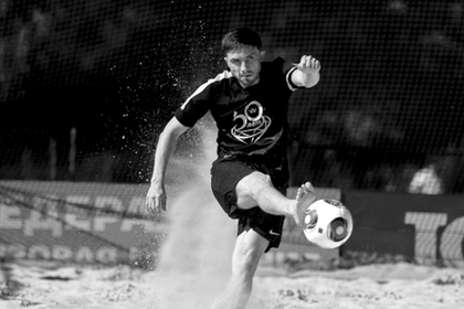 Российский футболист умер от холода