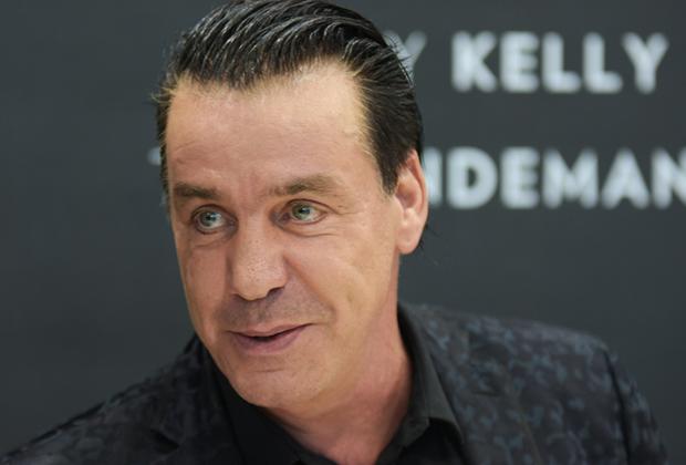 Октябрь 2017 года. Тилль Линдеманн, фронтмен группы Rammstein