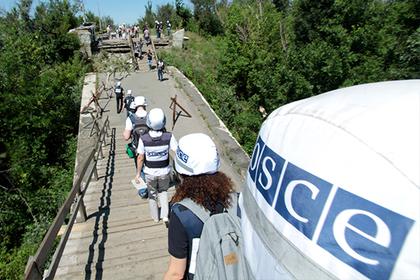 ОБСЕ увидела «свет в конце тоннеля» для Донбасса