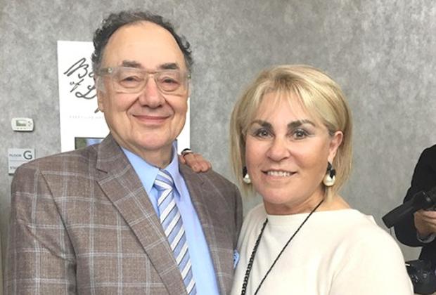 Барри Шерман вместе с супругой Хани