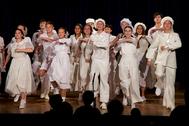 Спектакль Детского музыкального театра юного актера «Фантазии на тему Дунаевского».