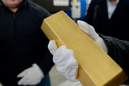 Центробанк приобрел рекордное с нынешнего года количество золота