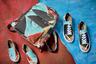 Создательницы бренда Ruban сестры Алиса и Юлия Рубан разработали совместно с маркой обуви и аксессуаров Ekonika большую коллекцию с оригинальным ярким принтом и декоративными элементами по мотивам полотен Модильяни. Хиты линии — рюкзак, а также туфли с разными принтами, продающиеся комплектами по три штуки: их можно носить в двух разных комбинациях.