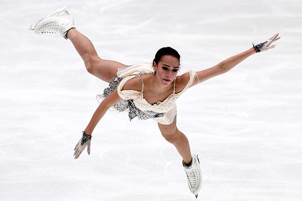 Вweb-сети интернет появилось видео победного танца Загитовой наГран-при вХельсинки