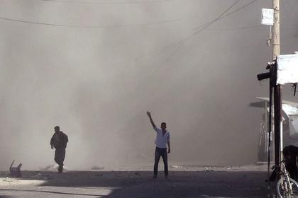 ВСирии в итоге  взрыва погибли несколько бойцов ЧВК «Вагнер»