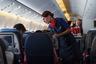 Загрузка первого рейса составила более 85 процентов, что является отличным показателем для гражданской авиации.