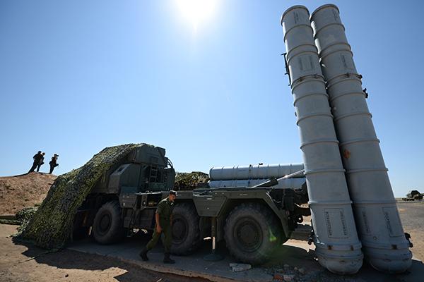 Российские С-300 в Сирии привели в боеготовность