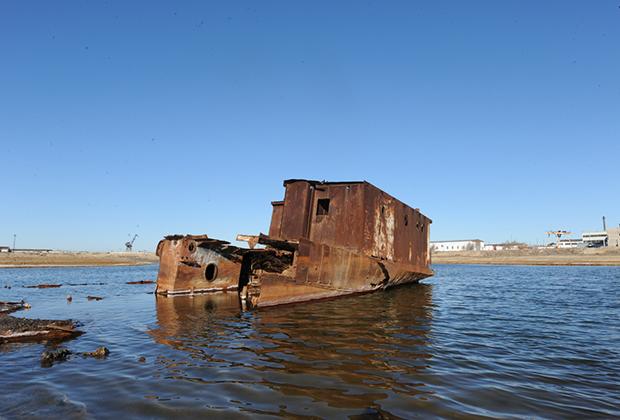 Почти все корабли были расхищены и распилены на металл. Редкие сохранившиеся остовы или расположены далеко от населенных пунктов, или в небольших водоемах.