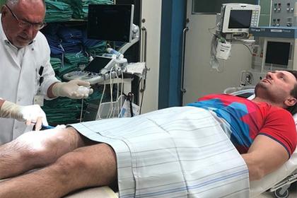 Запашный попал в больницу в Германии и рассказал о замене коленного сустава