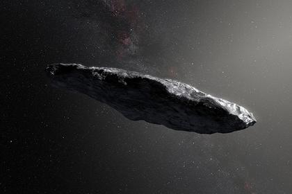 Межзвездный астероид Оумуамуа Иллюстрация: ESO / M. Kornmesser