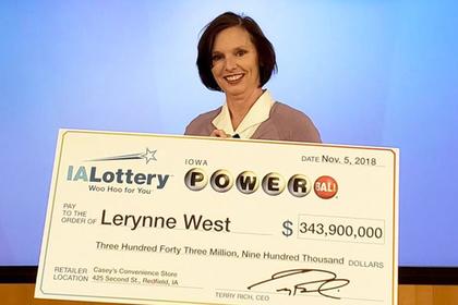 Обладательница выигрышного лотерейного билета чуть не упустила его