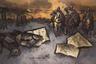 В сентябре 1974 года Рабин вместе с другом, поэтом и коллекционером Александром Глезером организовал «первую в СССР художественную выставку на открытом воздухе» — это было сделано для того, чтобы власти не зарубили мероприятие еще в зародыше, поскольку законов, регулирующих проведение выставок на московских пустырях, в Союзе тогда еще не существовало. Для того чтобы хоть как-то обезопасить себя от произвола милиции, организаторы пригласили на событие зарубежных журналистов и дипломатов. В день открытия Рабина с Глезером задержали у выхода из метро — якобы художник был похож на человека, укравшего у кого-то часы — однако быстро отпустили.