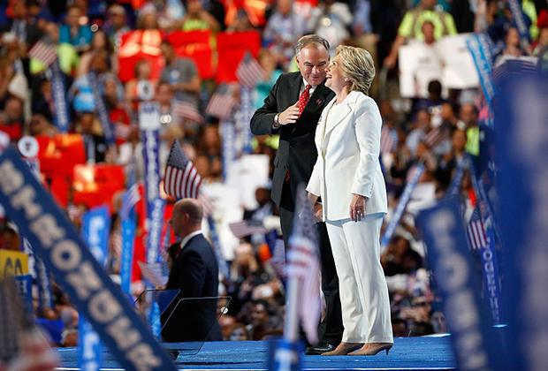 Кандидат в президенты от Демократической партии Хиллари Клинтон