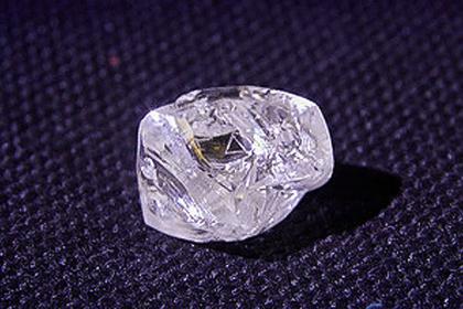 На открытом Путиным месторождении найден огромный алмаз