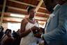 У некоторых гаитянских пар в Мексике уже родились дети, что упрощает для них получение вида на жительство.