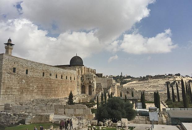 Город Давида у стен Старого города в Иерусалиме