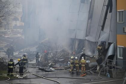 Назван очаг возгорания в петербургском гипермаркете