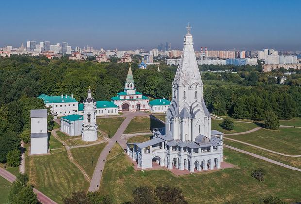 Церковь Вознесения в Коломенском, построенная в честь дня рождения будущего Ивана IV.