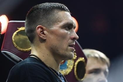 Украинский боксер Усик объяснил отказ от государственных наград