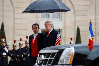 Трамп нашел предлог отказаться от поездки на кладбище
