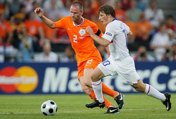 Андрей Аршавин в той самой игре с Голландией