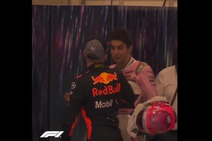 Пилоты «Формулы-1» повздорили после гонки и поплатились
