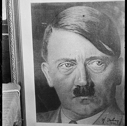 Портрет Гитлера. Польша, 1942-1943 годы.