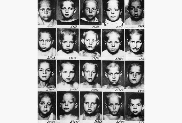 Дети «врагов народа» из специального детдома Наркомпроса