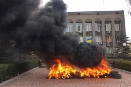 Холод заставил жителей украинского города захватить котельные