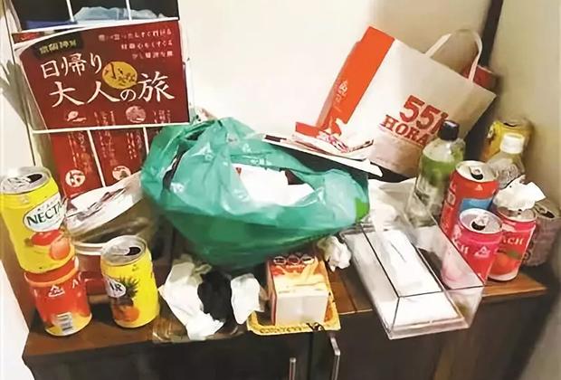 Так выглядела съемная квартира японца из Токио после отъезда троих китайских гостей