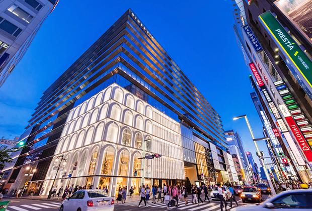 Комплекс Ginza Six в Токио