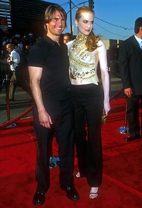 Том Круз и Николь Кидман в 2000 году