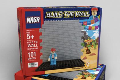 Сторонники Трампа подарят детям игрушечную стену на границе Мексики