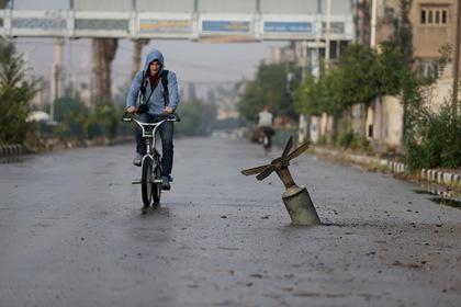 Коалиция США ударила по Сирии кассетными бомбами