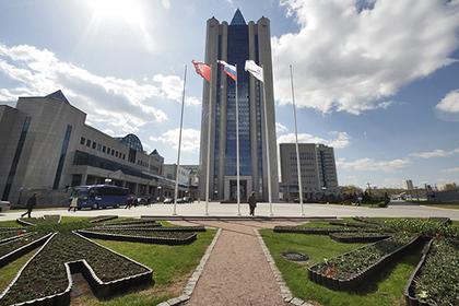 Здание центрального офиса «Газпрома» в Москве