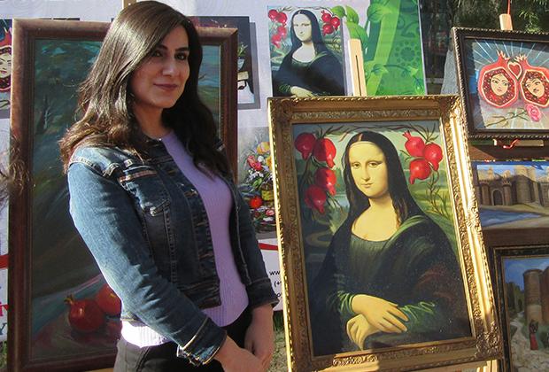 Геокчай. Азербайджанская Мона Лиза (с гранатами)