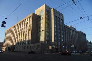 Здание ФСБ на Литейном проспекте в Санкт-Петербурге