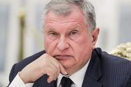 Председатель правления ОАО «НК «Роснефть» Игорь Сечин