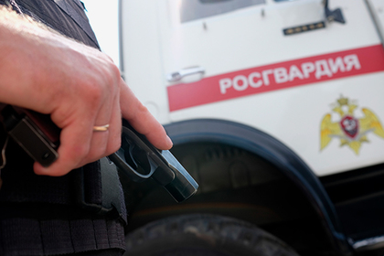 В Подмосковье задержали росгвардейца за угрозы следователю табельным пистолетом