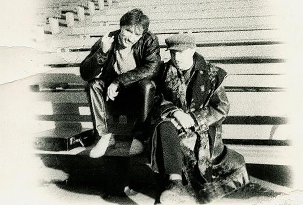 1988 год. «Зеленый театр», центр Стаса Намина. Гарик и Капельник