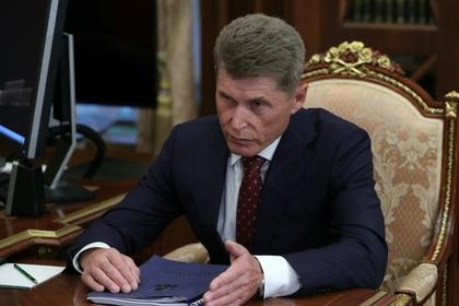 Врио главы Приморья Олег Кожемяко