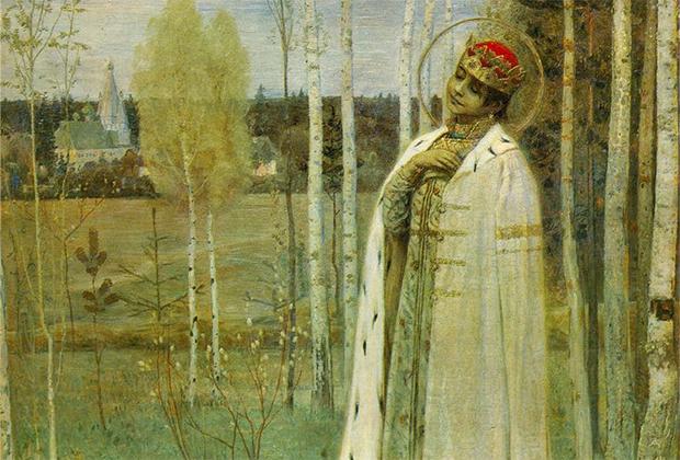 Младший сын Ивана Грозного Дмитрий страдал от эпилепсии и, судя по всему, погиб, играя в ножички. С мальчиком случился припадок, и он напоролся на нож. В 1606 году мальчик был канонизирован под именем святого царевича Дмитрия Углицкого.