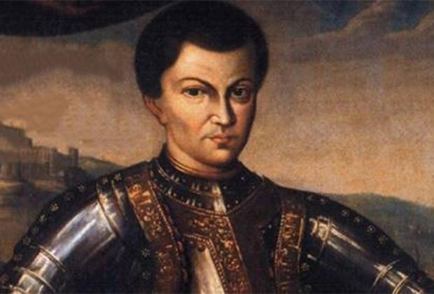 Считается, что Лжедмитрий I в действительности был дьяконом-расстригой Григорием Отрепьевым, который бежал в Польшу и решил воспользоваться Смутой для прихода к власти.